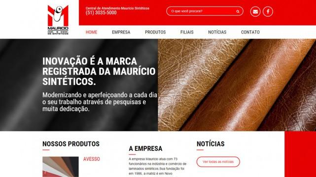 A Mauricio Sintéticos está com site novo!!!